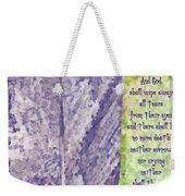 Revelation 21 4 Weekender Tote Bag