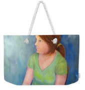 Reverie Of A Young Woman Weekender Tote Bag