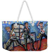 Revolution Rock The Clash Weekender Tote Bag by Jason Gluskin
