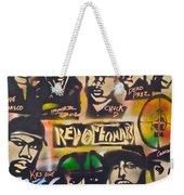 Revolutionary Hip Hop Weekender Tote Bag