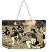Revolutionary War Battle Weekender Tote Bag