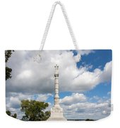 Revolutionary War Monument At Yorktown Weekender Tote Bag