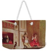 Revue At The Theatre Des Varietes, C.1885 Oil On Canvas Weekender Tote Bag