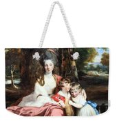 Reynolds' Lady Elizabeth Delme And Her Children Weekender Tote Bag