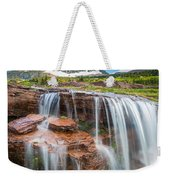 Reynolds Mountain Falls Weekender Tote Bag