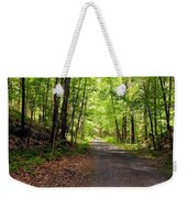 Wooded Path 12 Weekender Tote Bag