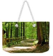 Wooded Path 15 Weekender Tote Bag