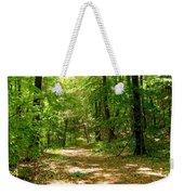 Wooded Path 16 Weekender Tote Bag