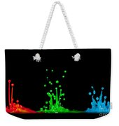 RGB Weekender Tote Bag