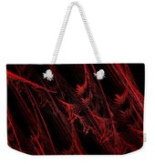 Rhapsody In Red H - Panorama - Abstract - Fractal Art Weekender Tote Bag
