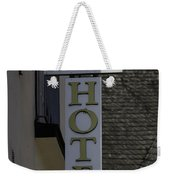 Rhine Hotel St Martin Sign  Weekender Tote Bag