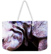 Rhino 2 - Buy Rhinoceros Art Prints Weekender Tote Bag