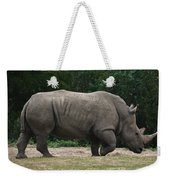 Rhino In The Wild Weekender Tote Bag