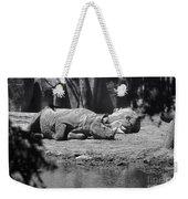 Rhino Nap Time Weekender Tote Bag