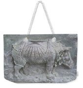 Rhino Relief - Church Door Detail Pisa Weekender Tote Bag