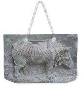 Rhino Relief - Church Door Detail Pisa Weekender Tote Bag