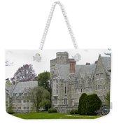Rhoads Hall Bryn Mawr College Weekender Tote Bag by Georgia Fowler