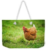 Rhode Island Red Chicken Weekender Tote Bag