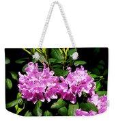 Rhododendron Closeup Weekender Tote Bag