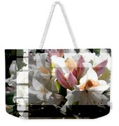 Rhododendron Collage Weekender Tote Bag