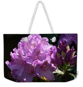 Rhododendron In The Morning Light Weekender Tote Bag