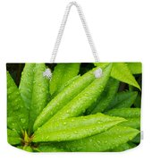 Rhododendron Leaves Weekender Tote Bag