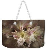 Rhododendron Mary Fleming Weekender Tote Bag