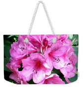 Rhododendron Square With Border Weekender Tote Bag