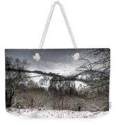 Rhymney Valley Winter 5 Weekender Tote Bag