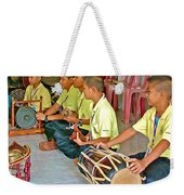 Rhythm Section In Traditional Thai Music Class  At Baan Konn Soong School In Sukhothai-thailand Weekender Tote Bag