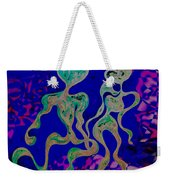 Rhythmic Attraction Weekender Tote Bag