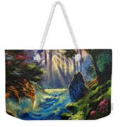 Rhythms Of A Vision Weekender Tote Bag
