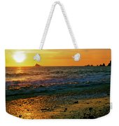 Rialto Beach Sunset Olympic National Park Weekender Tote Bag