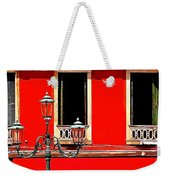 Rialto Red Weekender Tote Bag
