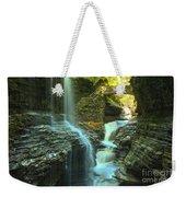 Rainbow Falls Watkins Glen Weekender Tote Bag