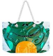 Ribbit The Frog License Plate Art Weekender Tote Bag