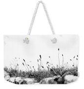 Ribwort Plantain Weekender Tote Bag
