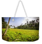 Rice Field Weekender Tote Bag