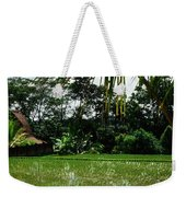 Rice Fields Bali Weekender Tote Bag