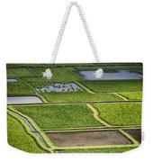 Rice Paddies Weekender Tote Bag