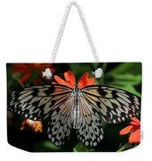 Rice Paper Butterfly Elegance Weekender Tote Bag