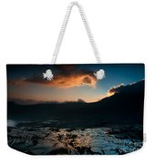 Rice Terrace And Cloud Weekender Tote Bag