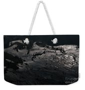 Rice Terrace In Black And White Weekender Tote Bag
