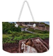 Rich Goats Weekender Tote Bag