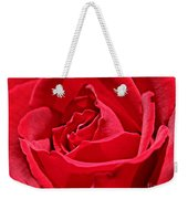 Rich Red Weekender Tote Bag