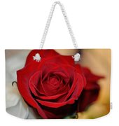 Rich Redness Weekender Tote Bag