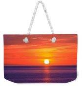 Rich Sunset Weekender Tote Bag