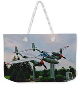 Richard Bong Memorial Weekender Tote Bag