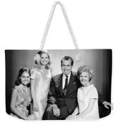 Richard Nixon And Family Weekender Tote Bag
