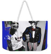 Richard Nixon Masks Uncle Sam Collage  Democratic National Convention Miami Beach Florida 1972-2008 Weekender Tote Bag